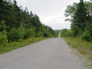 Townline Road dividing Hersey from Moro (2014)