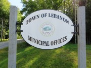 Sign: Town of Lebanon Municipal Offices (2014)
