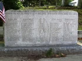 World Wars I & II Veterans Memorial (2014)