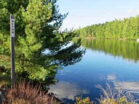 Mousam Lake on Rt. 109 (2014)