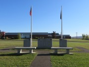 Veterans Memorial on Route 163 (2014)