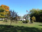 Patten Academy Bell in Alumni Park (2014)