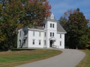 Parsonsfield Seminary's Ricker Hall (2014)