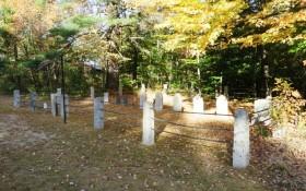 Chandler Cemetery in Fryeburg Center on Route 5 (2014)