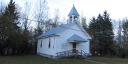 Selden Baptist Church on the Selden Road (2014)