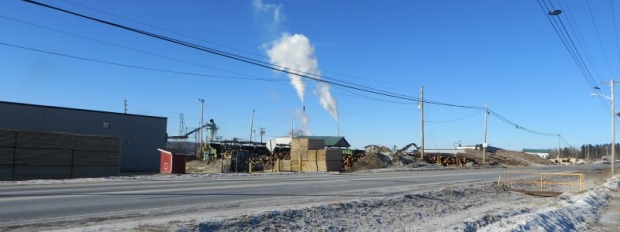 Fraser Timber Mill in Masardis on Route 11 (2015)