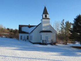 Unidentified Church on Route 11 (2010)