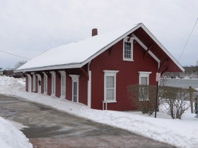 Bucksport Railroad Station (2015)