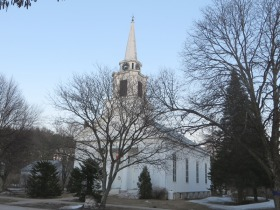 First Congregational Church in the Main Street Historic District (2015)