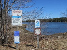 Morse Cove Boat Launch off Fiddlers Reach Road in Phippsburg (2015)