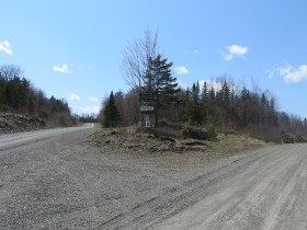 Fork of Pinkham Road and Jack Mountain Road (2015)
