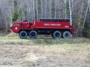 Forest Service Equipment on the Pinkham Road (2015)