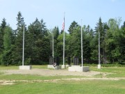 Veterans Memorial in Oakfield (2015)