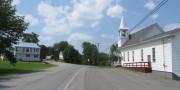 Perham Village and Perham Baptist Church (2015)