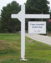 sign: Cape Arundel Golf Club (2015)