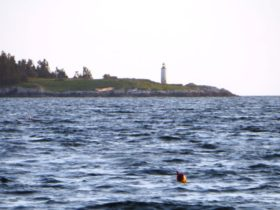 Franklin Island Light in Muscongus Bay (2015)