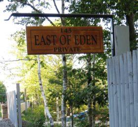 """Sign """"East of Eden"""" [Egonos] (2015)"""