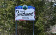 "Searsmont ""Welcome"" sign (2016)"