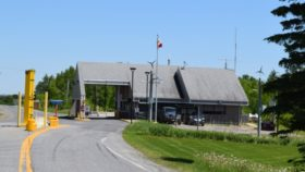 Canadian Customs at Limestone (2016)
