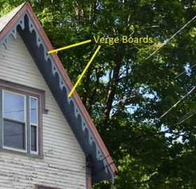 Verge Board on Seaverns House (2016)