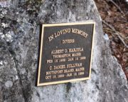 Memorial Plaque to Two Divers (2017)