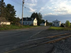 Railroad Tracks through the Village (2017)