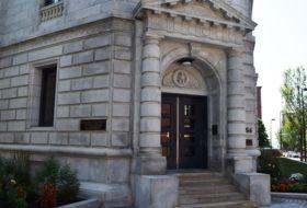 U.S. Courthouse, West Entrance (2017)