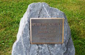 Spurwink Church Plaque (2017)