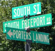 Porters Landing Intersection (2017)