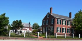 (Freeport Historical Society), transitional Federal-Greek Revival