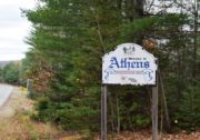 Athens Welcome Sign (2017)