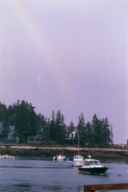 Rainbow Over Five Islands (2002)