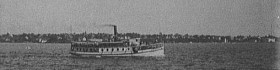 Steamer Sebascodegan, Orr's Island Line from the Library of Congress