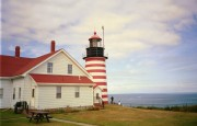 West Quoddy Head Light on Passamaquoddy Bay (1999)