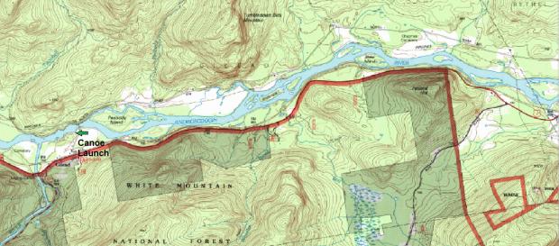 Androscoggin River in Gilead (2013)