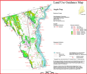 Argyle Land Use Guidance Map 2014
