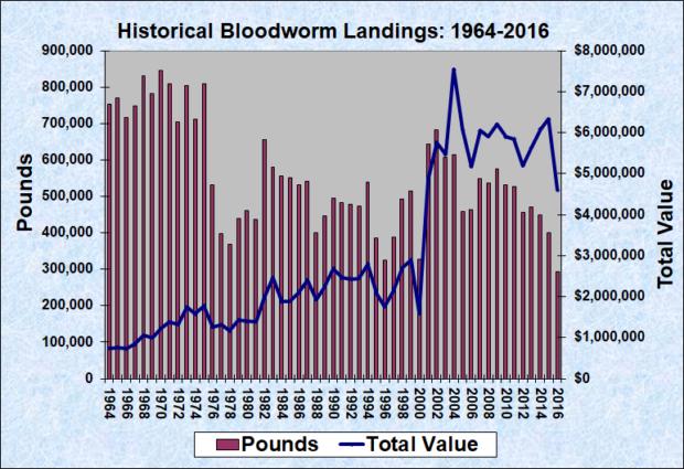 Bloodworm Landings (1964-2016)