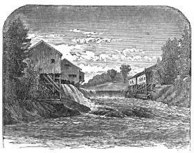 Bonney Eagle Falls