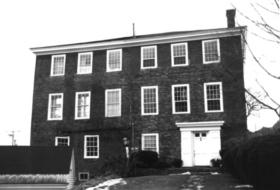 Auld-McCobb House rear view (1985)