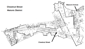 Chestnut Street Historic District
