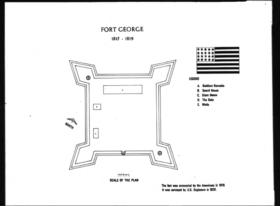 Fort George Plan (1815-1819)