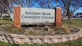 Sign: Southern Maine Community College (2012)