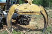 Grabbing Tool on a Skidder in Bowerbank