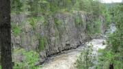 West Branch below Ripogenus Dam at Ripogenus Gorge
