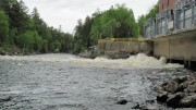 Outlet from McKay Station on the West Branch of the Penobscot River