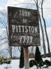 Sign: Town of Pittdton, 1777