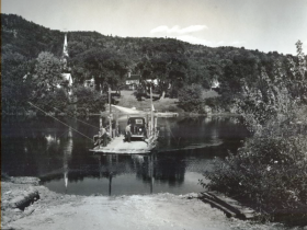 Ferry at Rumford Point (c. 1940)