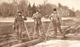 Log Drivers (c. 1905)