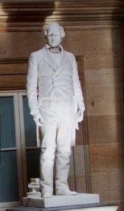 Daniel Webster statue at U.S. Capitol (2011)