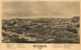 Dixfield Birdseye View 1896